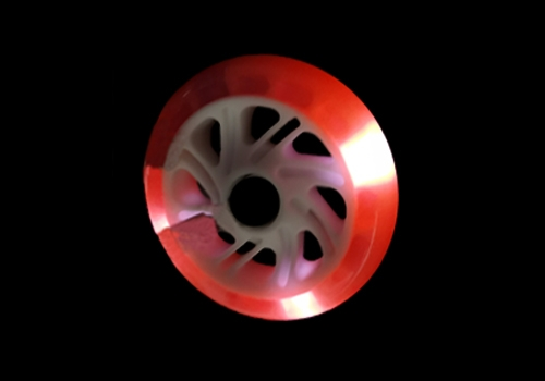 滑板车闪光轮